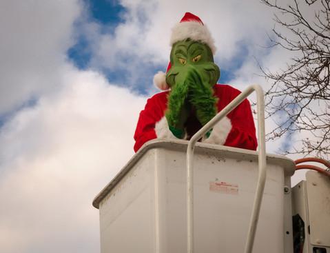 The Grinch (Mississauga Santa Claus Parade, 2015)