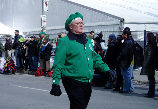 Dave Burgess, Optimists Alumni DM (St Pat's parade, 2007)