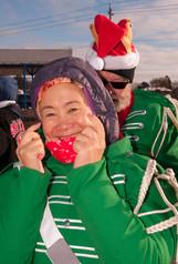 Lisa Lin and Ken Taylor, Optimists Alumni (Kitchener Santa Parade, 2019)