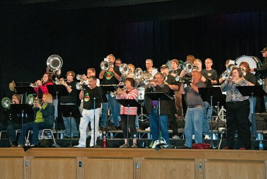 Simcoe United Alumni rehearsing (Simcoe, 2013)
