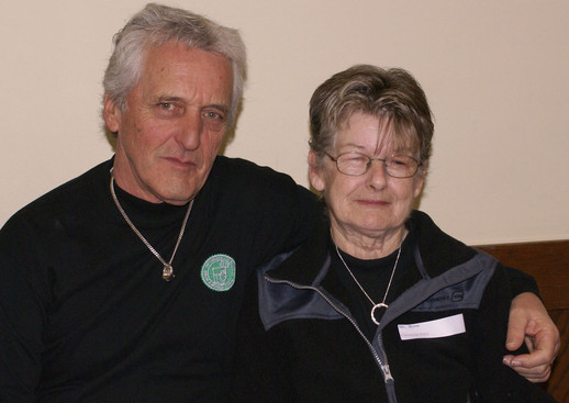 Warren and Hazel Berger, January Party (2008)