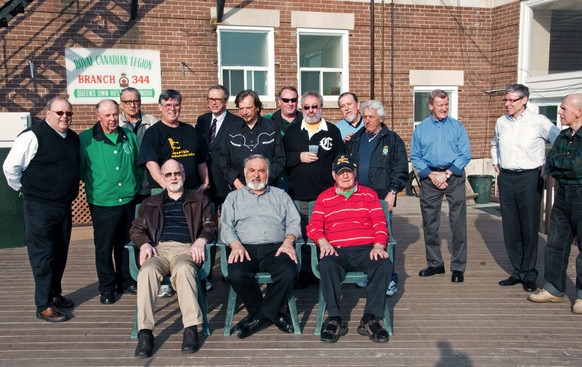 Some of the guys who knew Andy (Andy Henderson Memorial, 2012)