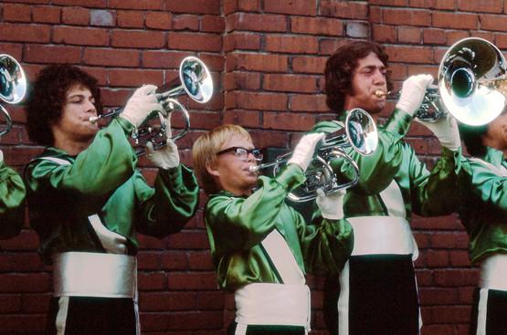 Toronto Optimists warming up (Brantford, 1975)