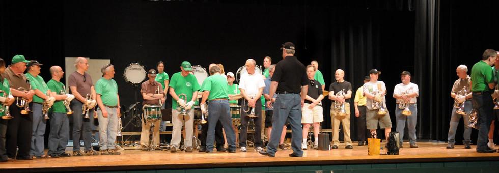 Optimists Alumni rehearsing (St Joe's, 2009)