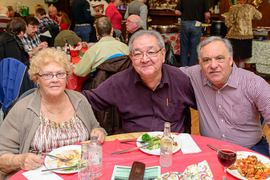 Josie, Ron & Joe (Christmas Party, 2013)