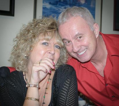 Glenda Tokiwa and Doug Roblin (Christmas Party, 2014)