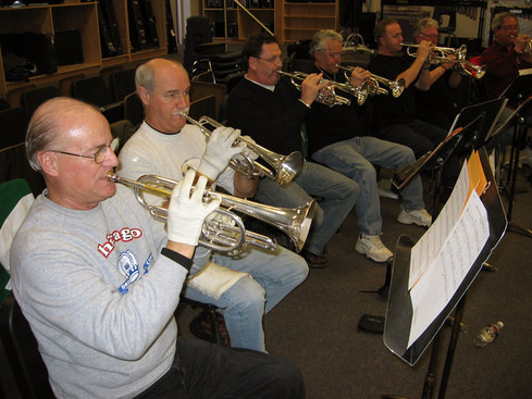 Rehearsing at St Mike's (2008)