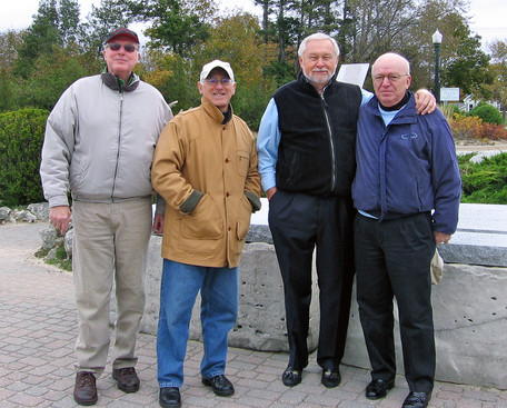 Phil Hennings, Ed Nanni, Henry Beben and Jim Patten (Southampton, ON, 2006)