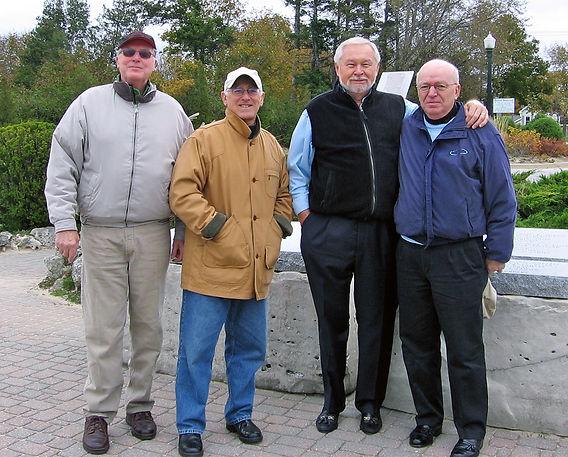 Phil Hennings, Ed Nanni, Henry Beben and Jim Patten (Southampton, ON, 2006)