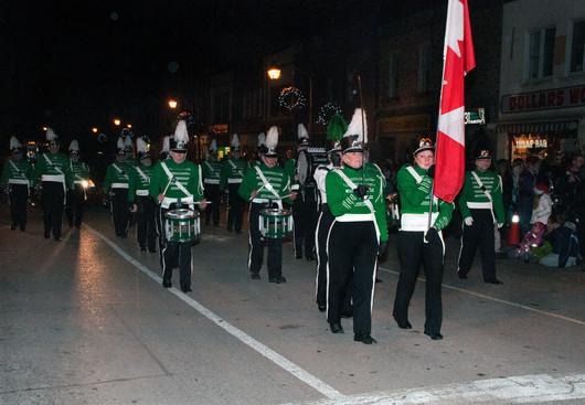 Optimists Alumni (Fenelon Falls Santa parade, 2011)