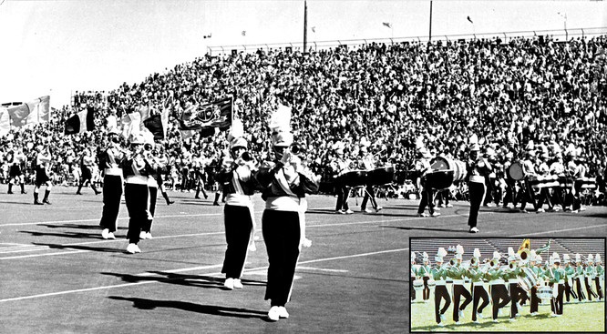 CFL Game at the CNE (1972 with a 1965 insert)