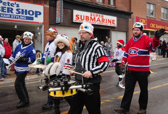 Optimists Alumni (Acton Santa Claus Parade, 2015)
