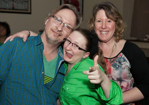 Jeff, Lauren and Brenda (Wearing of the Green, 2013)