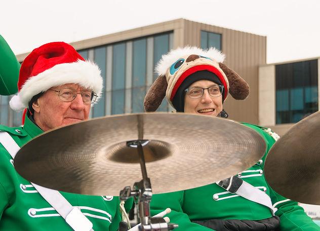 Lorne and Judy, Optimists Alumni (Etobicoke Santa Claus Parade, 2017)