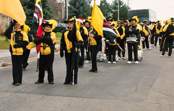Kawartha Kavaliers (Uxbridge Santa parade, 2011))