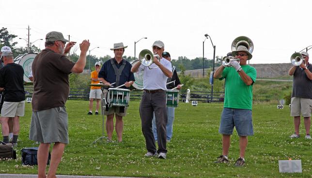 Rehearsing at Villanova (2008)