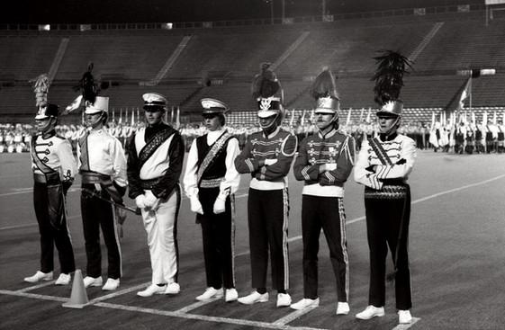 DMs at the Big 10, Scores: Opti: 79.1, Del: 78.0, Lasalle: 75.55 (Hamilton, Sept 2, 1972)