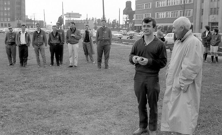 Doug McPhail and Bernie Beer, Toronto Optimists (Waterfront, 1961)