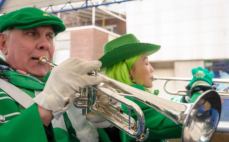 Barry Woods and Soo, Optimists Alumni (Toronto St Pat's Parade, 2019)