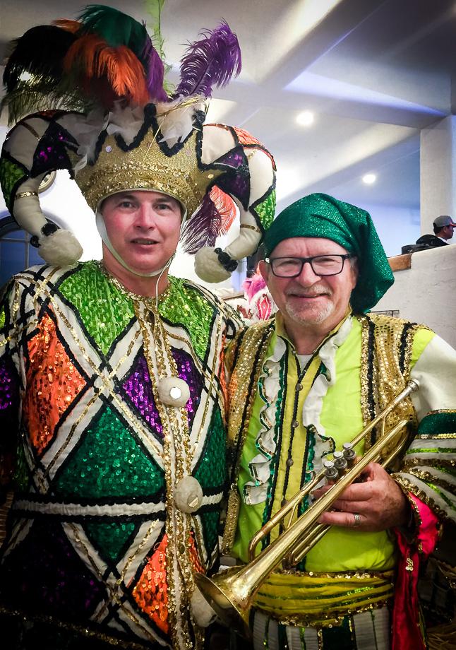 Russ Braman and Geoff Adeney, Optimists Alumni (Jeju, South Korea, 2019)
