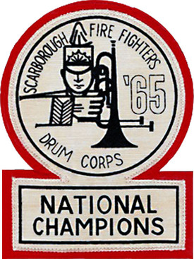 Scarborough Firefighters championship crest (1965)