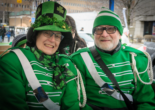 Judy and Barry, Optimists Alumni (Toronto St Pat's Parade, 2019)