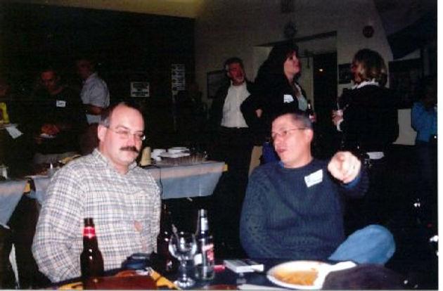 Mark Decloux & Bill Thomas (Seneca Optimists Reunion, 2006)