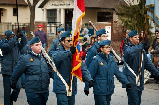 Air Cadet Band (Mississauga Santa Claus Parade, 2015)
