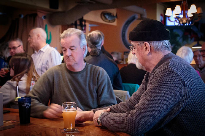 John & Frans Rood (80th BDs, 2014)