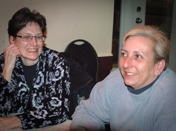 Judy and Leisa (Wearing of the Green, 2014)