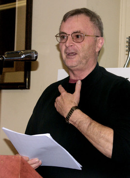 John Jones giving presentation on G.A.S. (January Party, 2008)