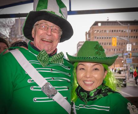 Brian and Soo, Optimists Alumni (Toronto St Pat's Parade, 2019)
