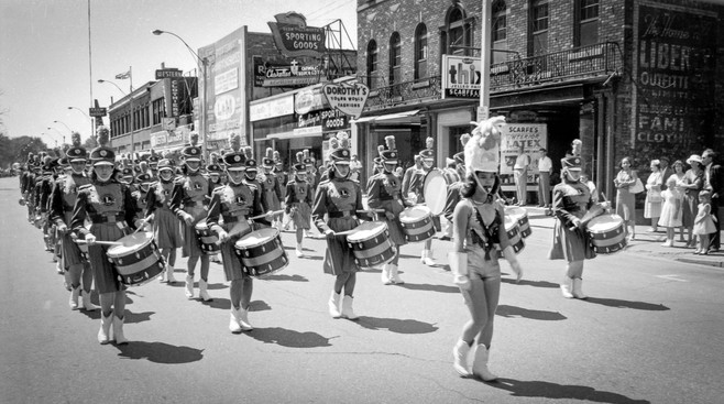 Sarnia Lionettes (Emancipation Day Parade, Windsor, 1960)