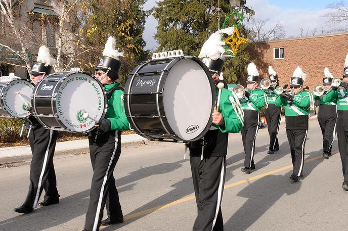 Optimists Alumni (Acton Santa Parade, 2014)