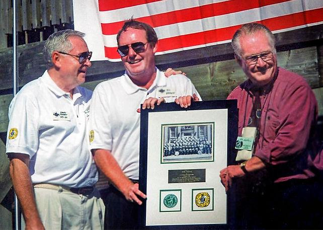 Henry Beben, Ric Brown and Don Daber (Optimists Reunion, 1998)