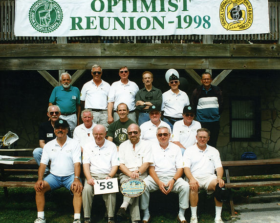 Back row  L to R: Mike Andrews (deceased), Len Perrin, Phil Hennings, Al Morrison, Ed Nanni. Colin Hedworth