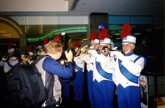 Optimists Alumni dressed for Lotto 6/49 promo (2004)