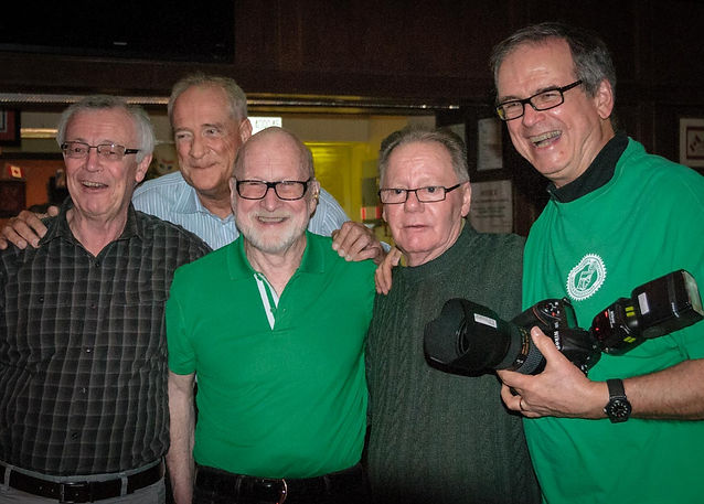 Brian, Mike, Barry, George & Dave (Wearing of the Green, 2014)