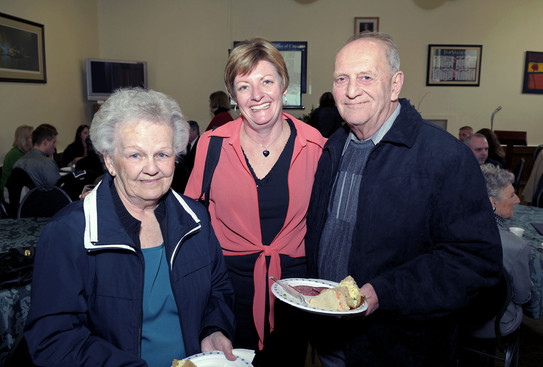 Debi LaPointe with guests (Dick Brown Celebration, 2010)