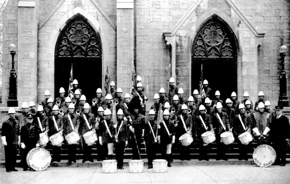 Grantham Police Boys Band (about 1957)