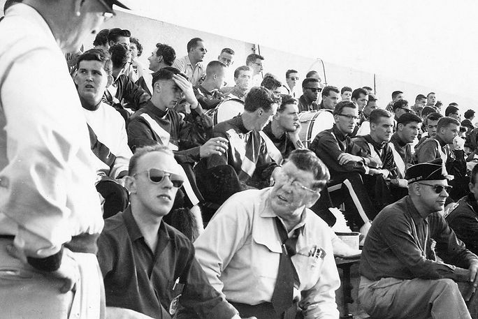 Toronto Optimists in the stands (1960)