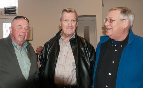 Rick Shearer, Mel Dey and Brian Byrne (Remembering Paul Thompson, 2015)