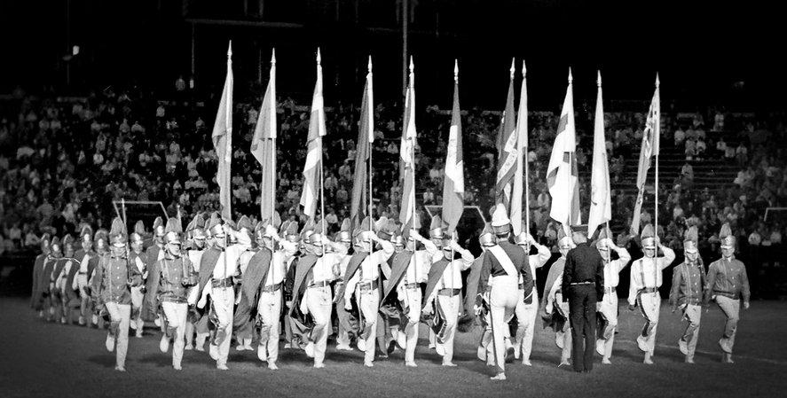 De La Salle on retreat (Nationals, Varsity Stadium, 1964)