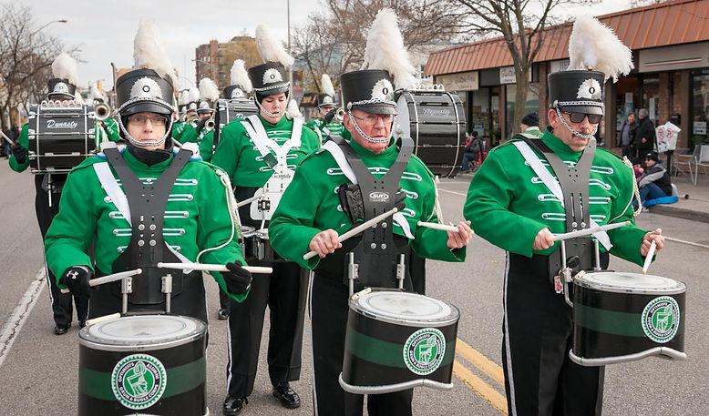 Optimists Alumni (Oakville Santa Parade, 2014)