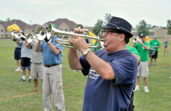 Gerry Bencze, Optimists Alumni Rehearsing (Buffalo, 2010)