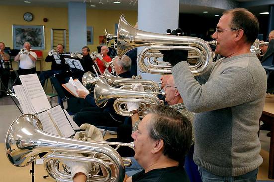 Baritones at rehearsal (2008)