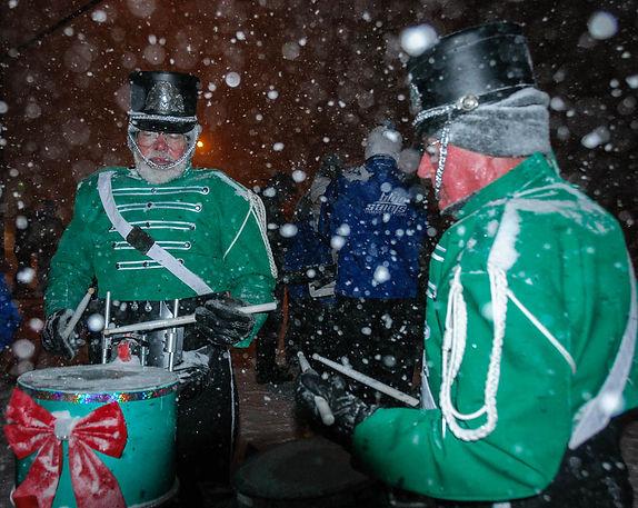 Ken & Lorne (Aurora Santa Parade, 2013)