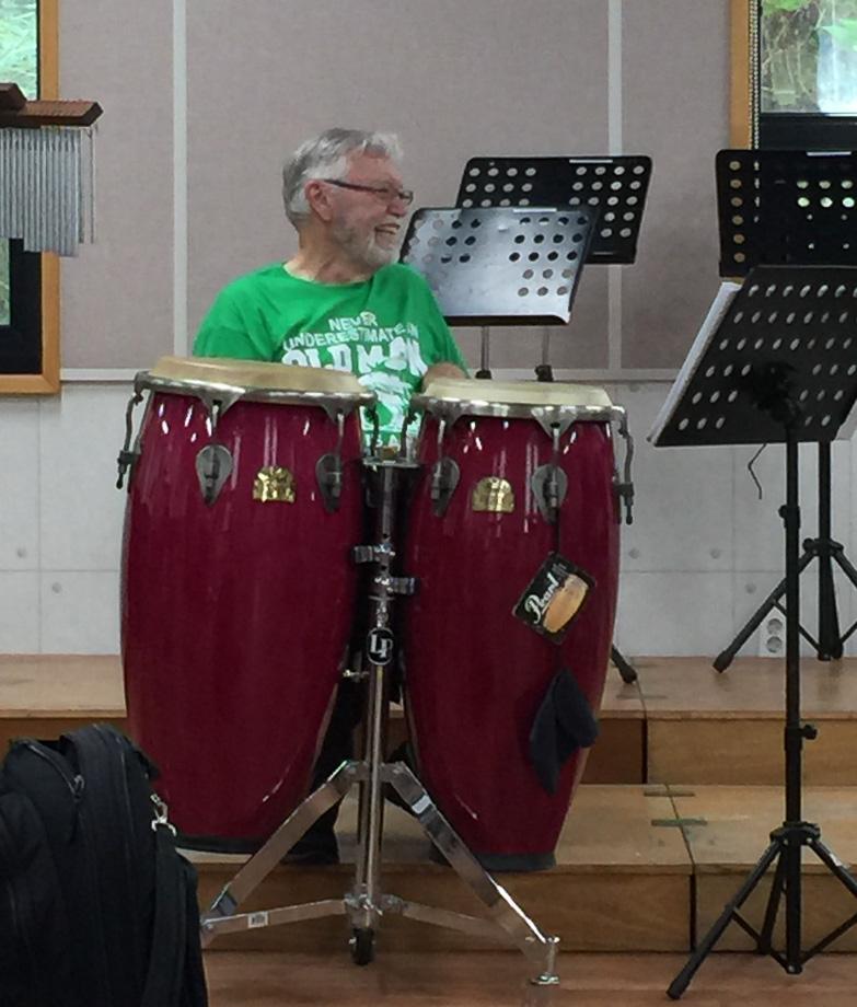 Ken Taylor, Optimists Alumni's first rehearsal in Jeju (Jeju, South Korea, 2019)