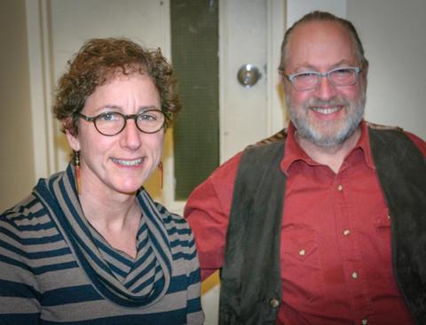 Sally & Roger Rafson (Christmas Party, 2014)