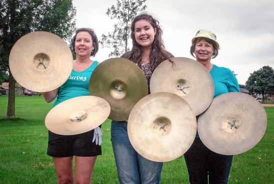 Optimists Alumni cymbals (Oshawa, 2014)